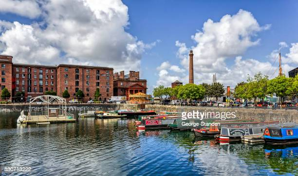 albert dock, liverpool, uk - merseyside stock pictures, royalty-free photos & images