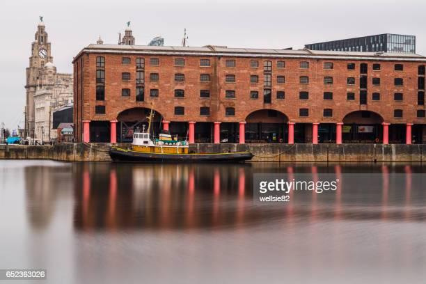 Albert Dock long exposure