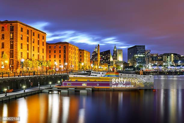 Albert Dock, Yellow Submarine, Liverpool, England