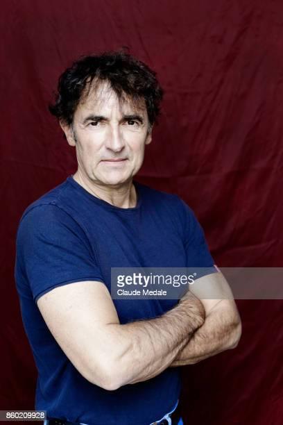 Albert Dupontel poses for a portrait session during 65th San Sebastian Film Festival on September 25 2017 in San Sebastian Spain
