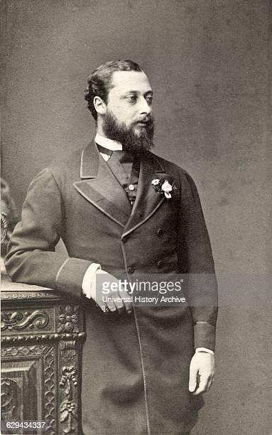 Albert Edward , Future Edward VII King of England 1901-10,Portrait as Prince of Wales, circa late 1860's.