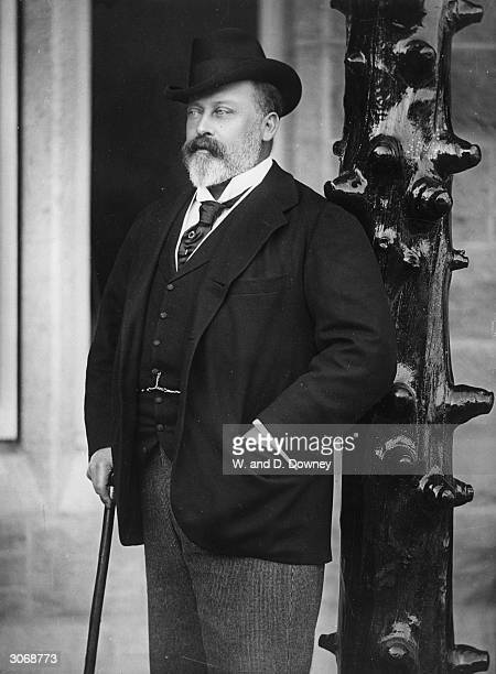 Albert Edward Prince of Wales , eldest son of Queen Victoria and Prince Albert and later King Edward VII.
