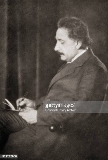 Albert Einstein 1879 – 1955 Germanborn theoretical physicist He developed the general theory of relativity From Master Minds of Modern Science...