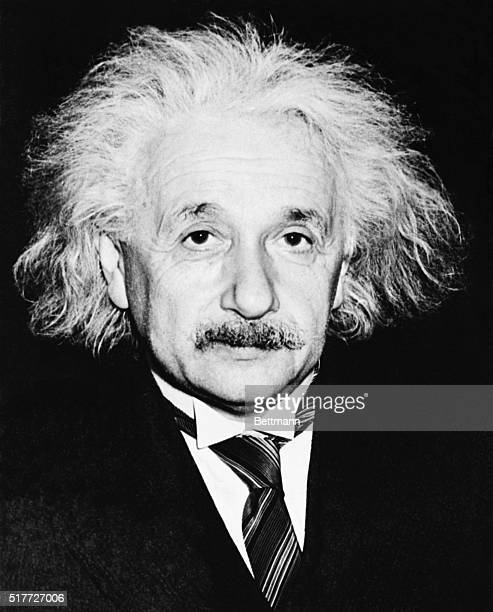 Albert Einstein , American theoretical physicist and winner of the 1921 Nobel Prize for Physics.