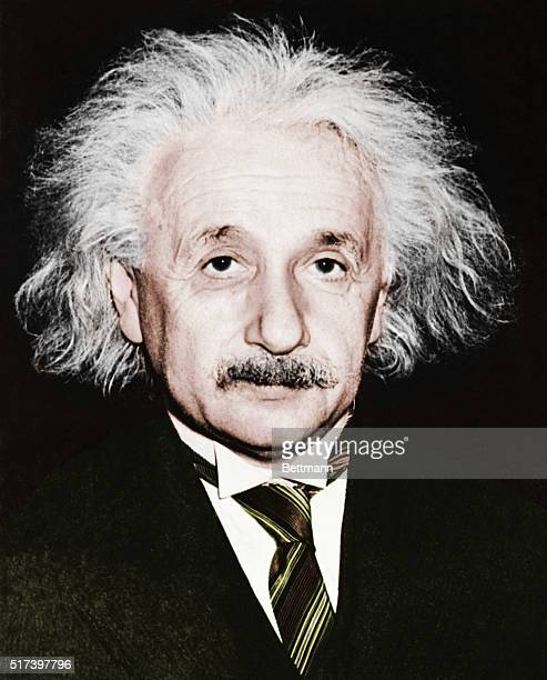 Albert Einstein , German-born American theoretical physicist and winner of the 1921 Nobel Prize for Physics, circa 1953.