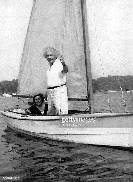 Albert Einstein GermanSwiss mathematician and theoretical physicist c1930s Einstein's main contribution to science was the theory of relativity...