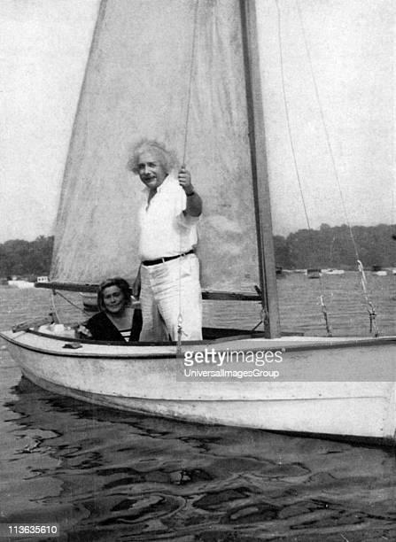 Albert Einstein GermanSwiss mathematician Einstein sailing