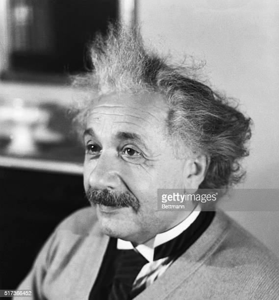 Albert Einstein is shown He was awarded the Nobel Prize for Physics in 1921