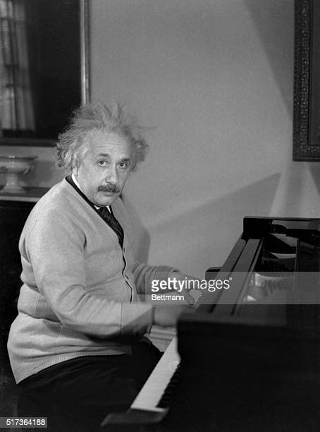 Albert Einstein Physicist is shown in this photograph