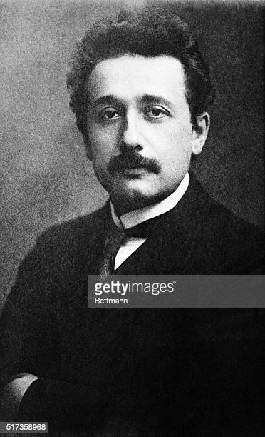 Albert Einstein the year he published five papers including one introducing his theory of relativity