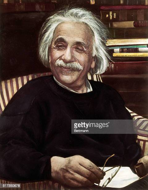 Albert Einstein theoretical physicist Undated photograph