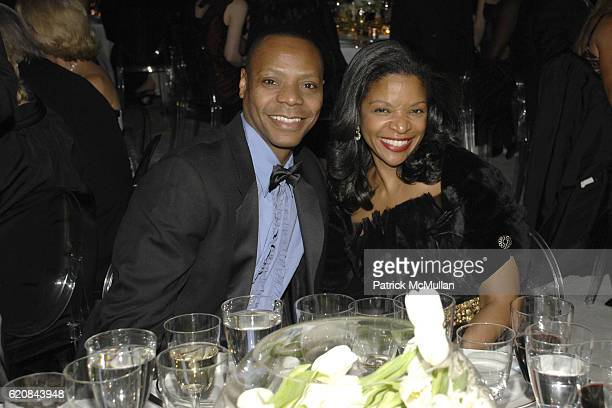 Albert Evans and Pamela Joyner attend THE SCHOOL OF AMERICAN BALLET 2008 Winter Ball at New York State Theater on March 3 2008 in New York City