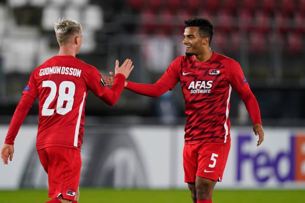 NLD: AZ Alkmaar v HNK Rijeka: Group F - UEFA Europa League