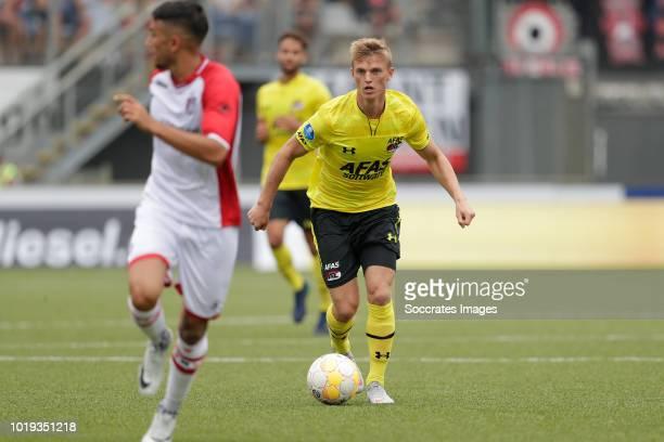 Albert Gudmundsson of AZ Alkmaar during the Dutch Eredivisie match between FC Emmen v AZ Alkmaar at the De JENS Vesting on August 19 2018 in Emmen...