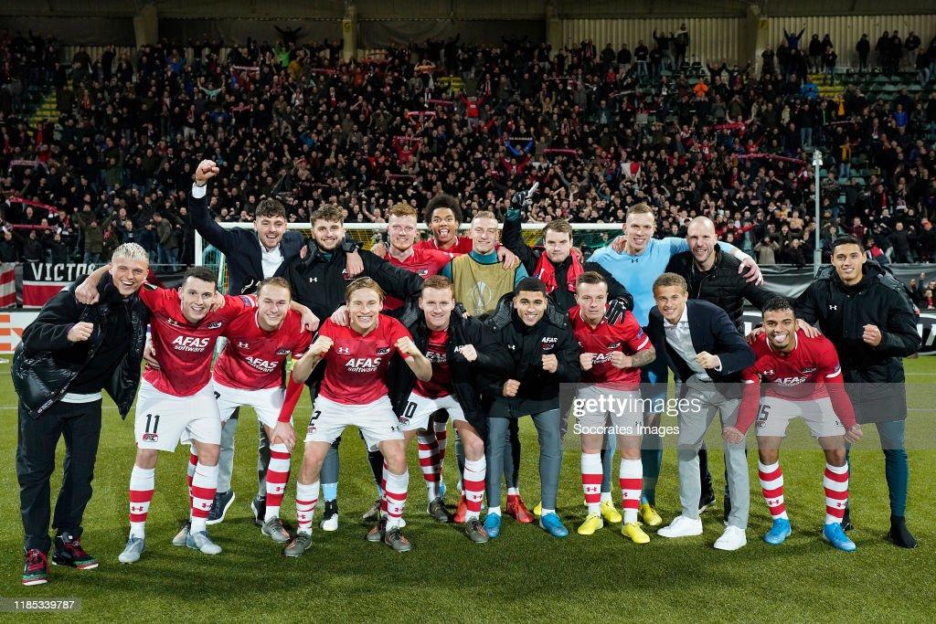 AZ Alkmaar v FK Partizan - UEFA Europa League : News Photo