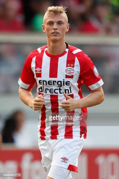 Albert Gudmundsson of PSV during the Club Friendly match between PSV v Olympiakos Piraeus at the Sportpark Parkzicht on July 24 2018 in Uden...