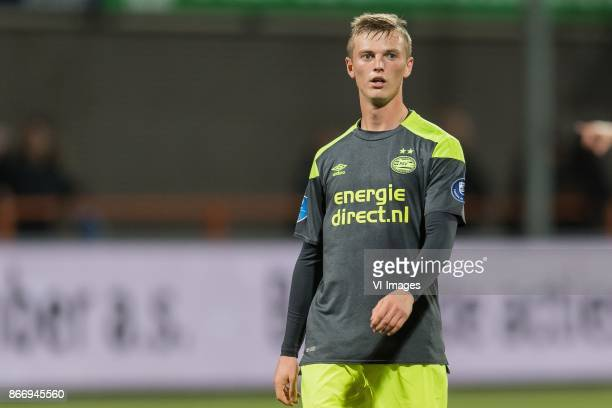 Albert Gudmundsson of PSV during the Second Round Dutch Cup match between FC Volendam and PSV Eindhoven at Kras stadium on October 26 2017 in...