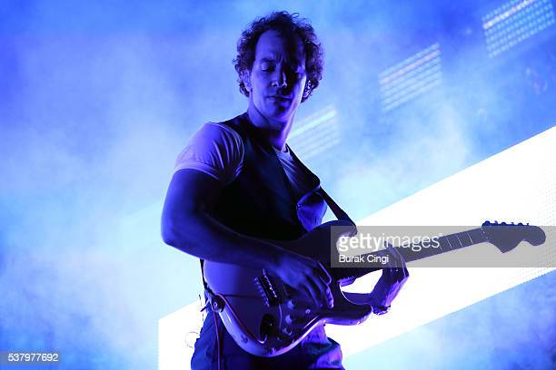 Albert Hammond Jr of The Strokes performs live on day 1 of Governors Ball festival at Randall's Island on June 3 2016 in New York City