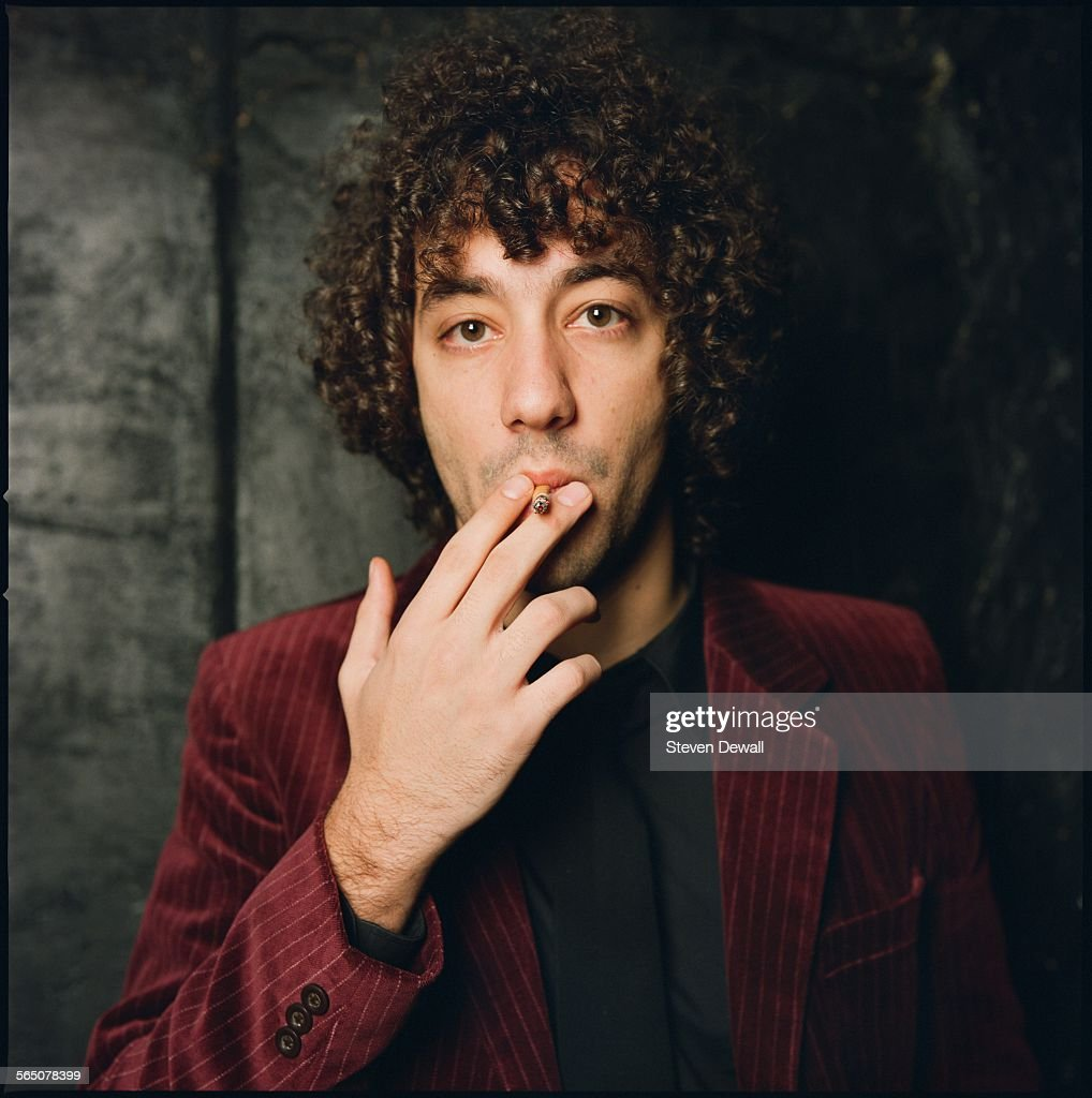 Albert Hammond Jr of The Strokes poses for a studio portrait in New York, United States, 15th November 2005.