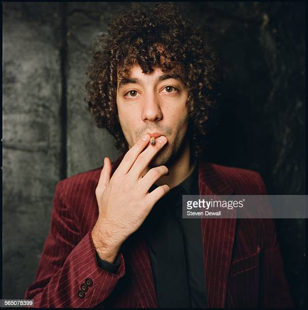 Albert Hammond Jr of The Strokes poses for a studio portrait in New York United States 15th November 2005