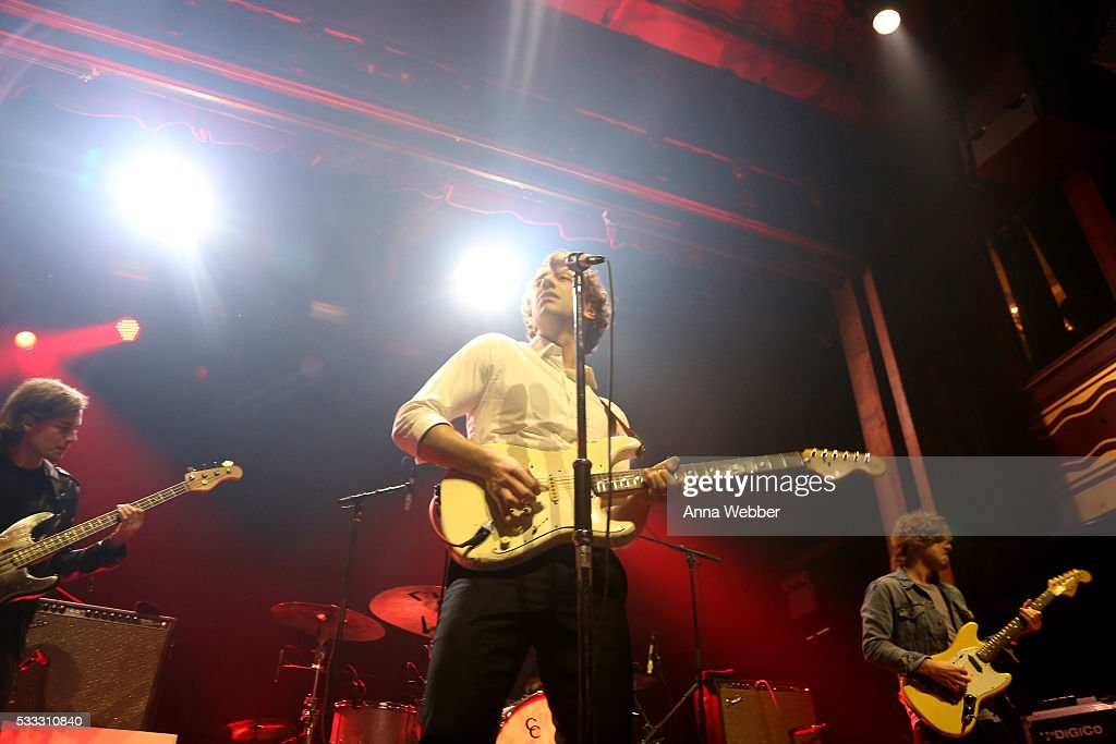 Albert Hammond Jr. performs on stage during Vulture Festival & Governors Ball Present Gary Clark Jr. And Albert Hammond Jr. at Webster Hall on May 21, 2016 in New York City.