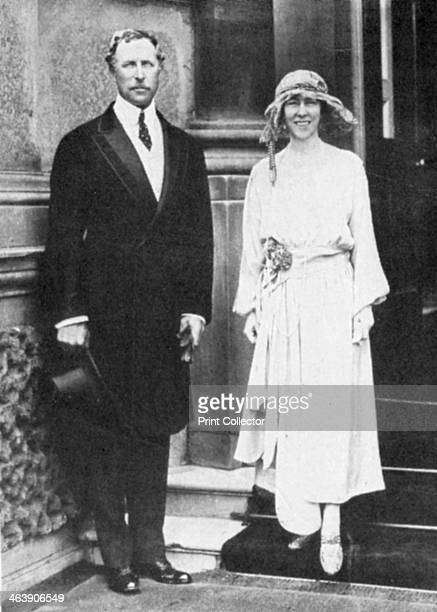 Albert I , King of the Belgians from 1909, with his consort, Queen Elisabeth . Albert and Elisabeth, a Bavarian princess, were married in 1900. After...