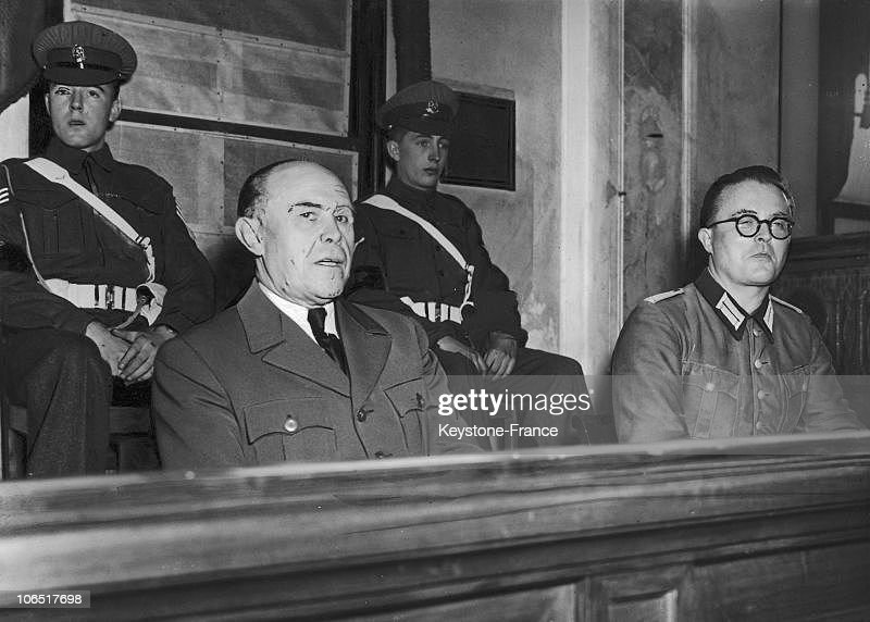 Albert Kesselring Trial. 1947, : News Photo
