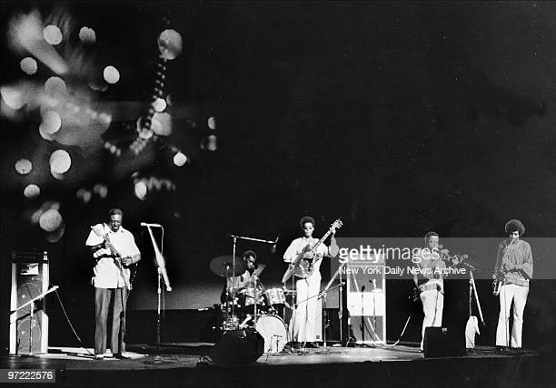 Albert King and his group fill the Fillmore East with the now sound for last time during the nondescript Second Avenue theater's closing weekend And...