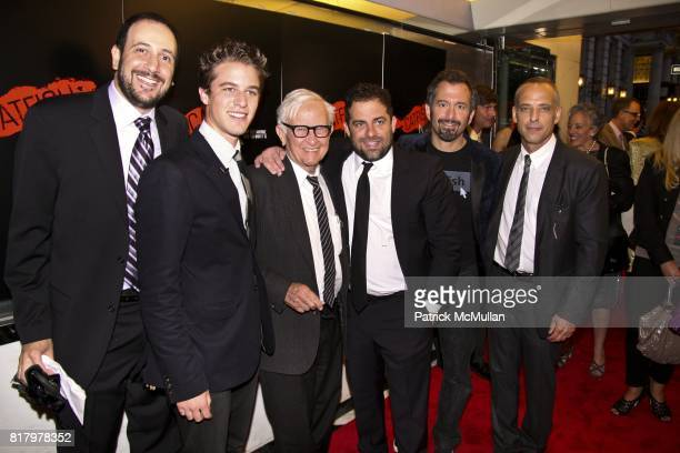 Albert Maisels Brett Ratner Andrew Jarecki and attend CATFISH The Premiere at Paris Theatre on September 13 2010 in New York City