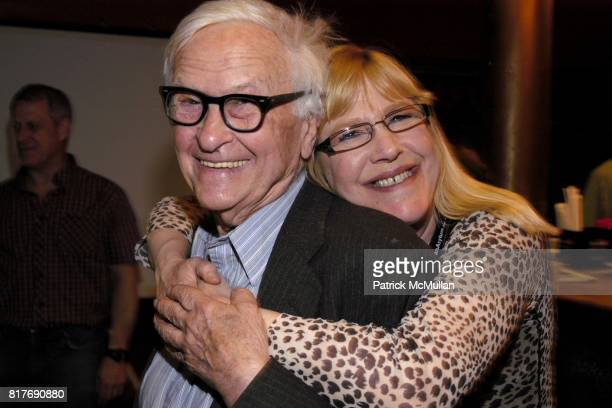 Albert Maysles and Susan GarboseBrown attend AN EVENING with BERNARD FOWLER at The Knitting Factory on May 19 2009 in New York