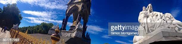 Albert Memorial, Kensington Gardens, London, England, United Kingdom, Europe