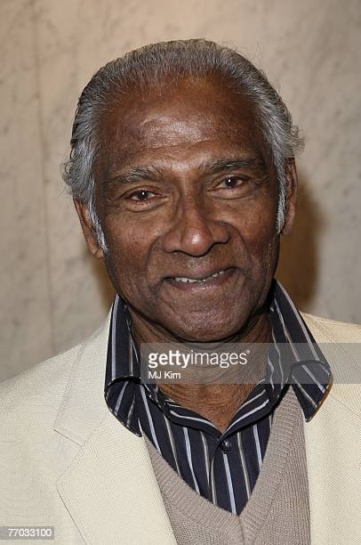 Albert Moses arrives Best Of British Comedy Lunch 2007 at the British Academy of Film and Television Arts on September 26 2007 in London England