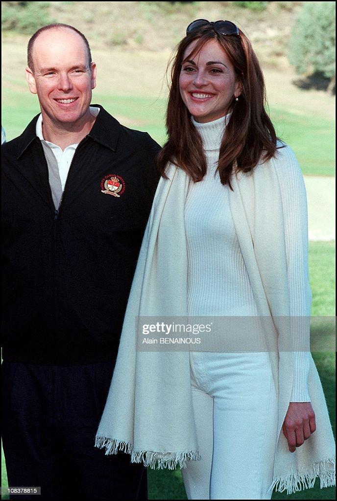 Golf Championship Of Celebrities in Monaco on October 07, 2000. : News Photo