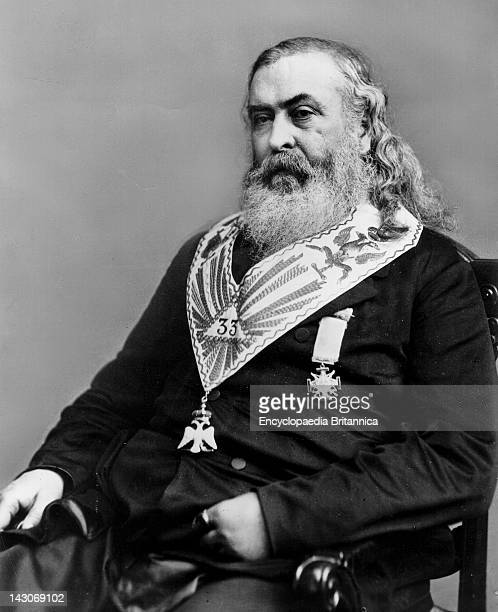 Albert Pike Brigadier General Albert Pike Confederate States Of America Authorized To Recruit The Indians Support For The Confederacy