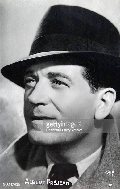 Albert Pr_jean a French actor and First World War veteran Dated 20th Century