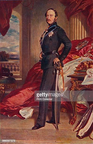 Albert Prince Consort 1859 From Cassell's Illustrated History of England Vol V Artist Franz Xaver Winterhalter