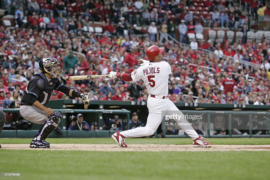 Arizona Diamond Backs vs St. Louis Cardinals - May 13, 2006 : News Photo