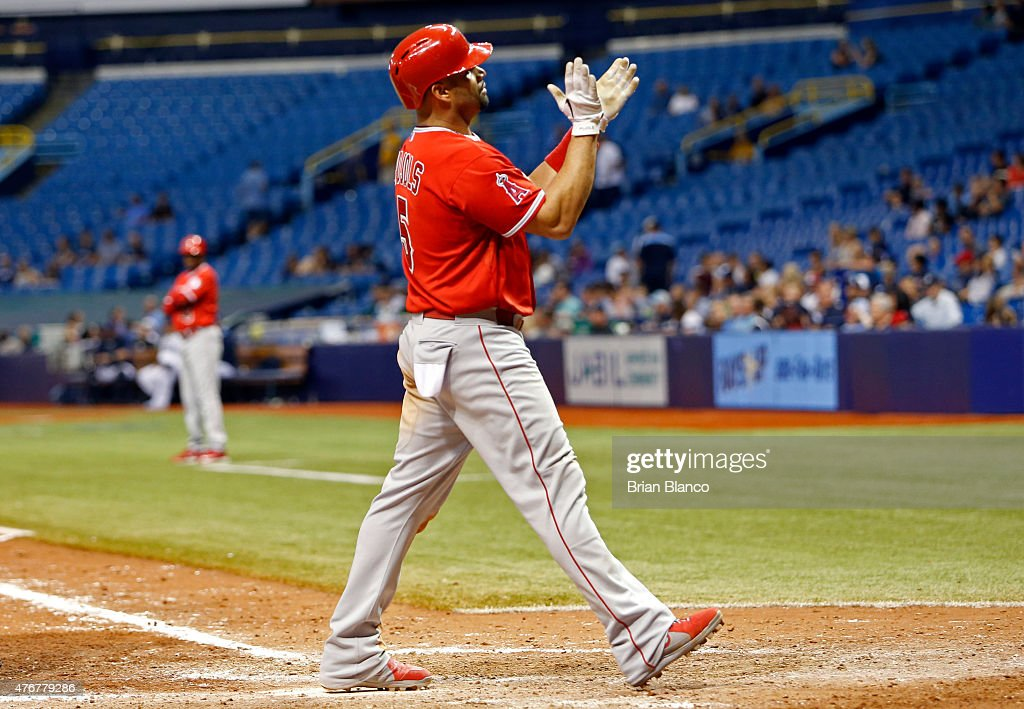 Los Angeles Angels of Anaheim v Tampa Bay : News Photo