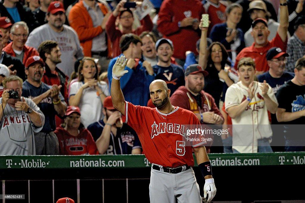 Los Angeles Angels of Anaheim v Washington Nationals : News Photo