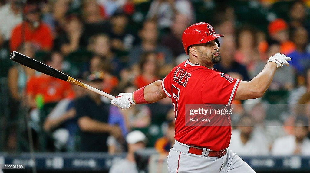 Los Angeles Angels of Anaheim v Houston Astros : News Photo