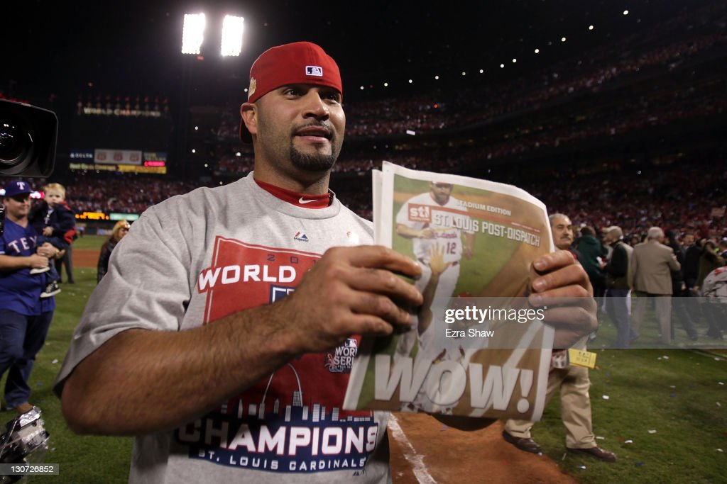 2011 World Series Game 7 - Texas Rangers v St Louis Cardinals : Fotografía de noticias
