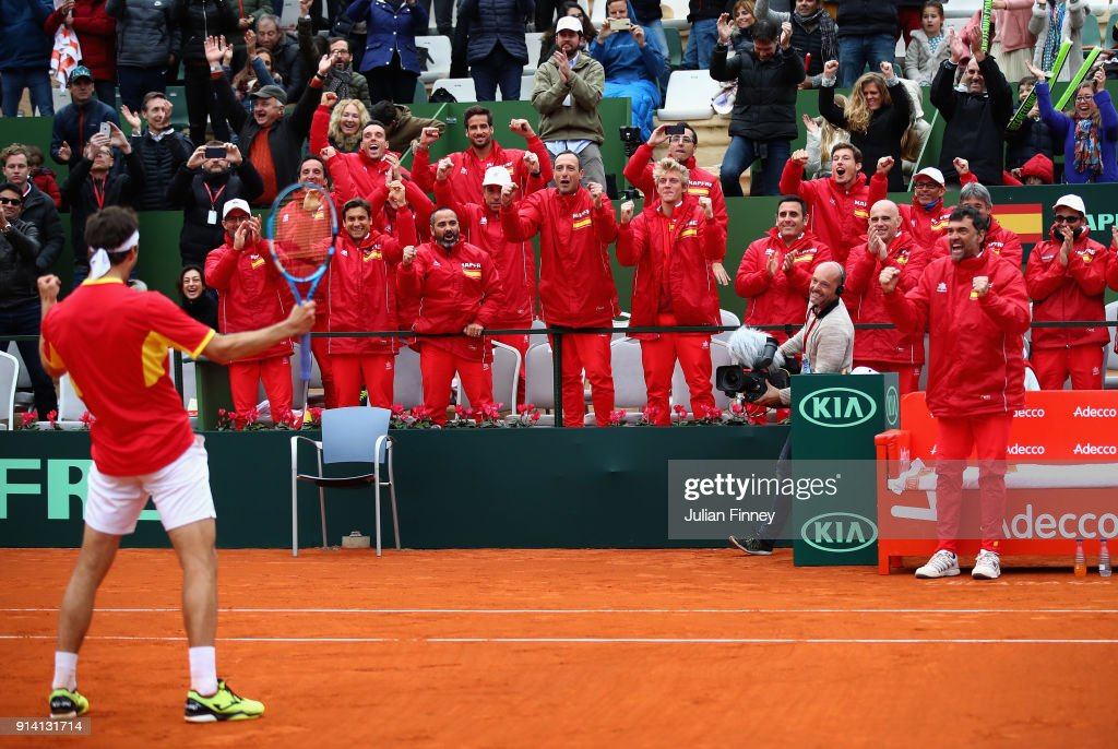 Spain v Great Britain - Davis Cup by BNP Paribas World Group First Round - Day 3