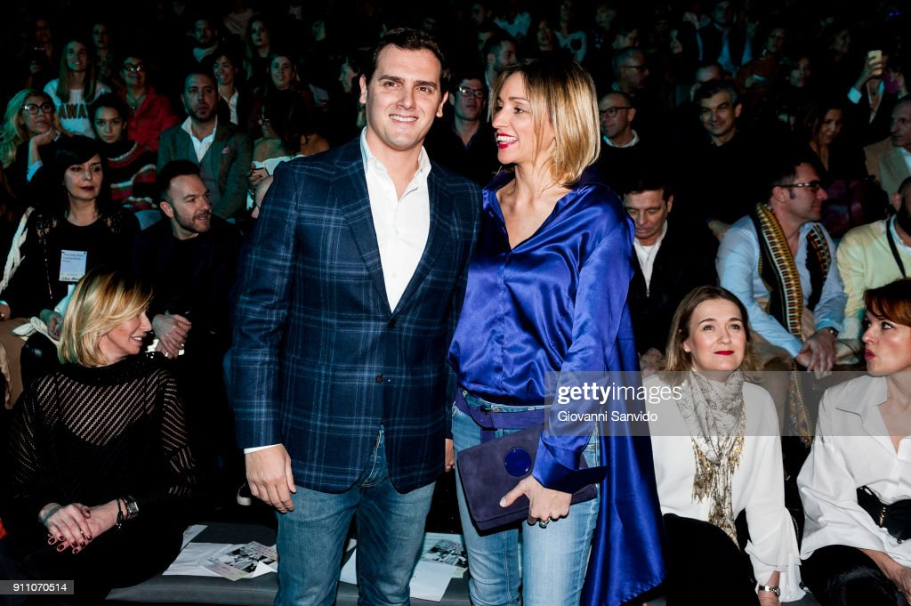 Day 3 - Celebrities - Mercedes Benz Fashion Week Madrid - January 2018