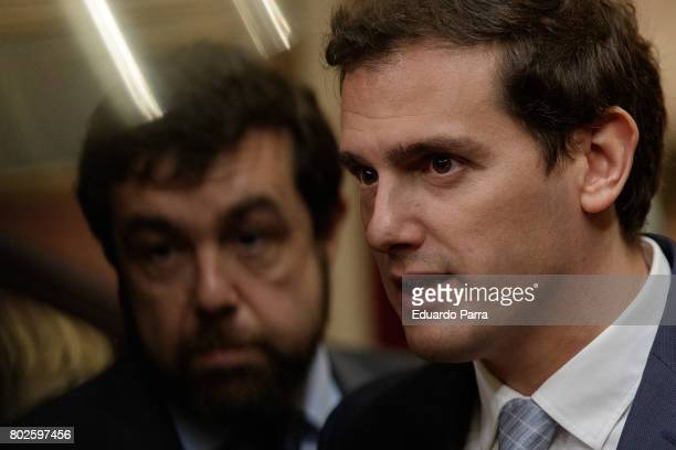 Albert Rivera attend the commemoration of first democracy election at Congress of deputies on June 28 2017 in Madrid Spain