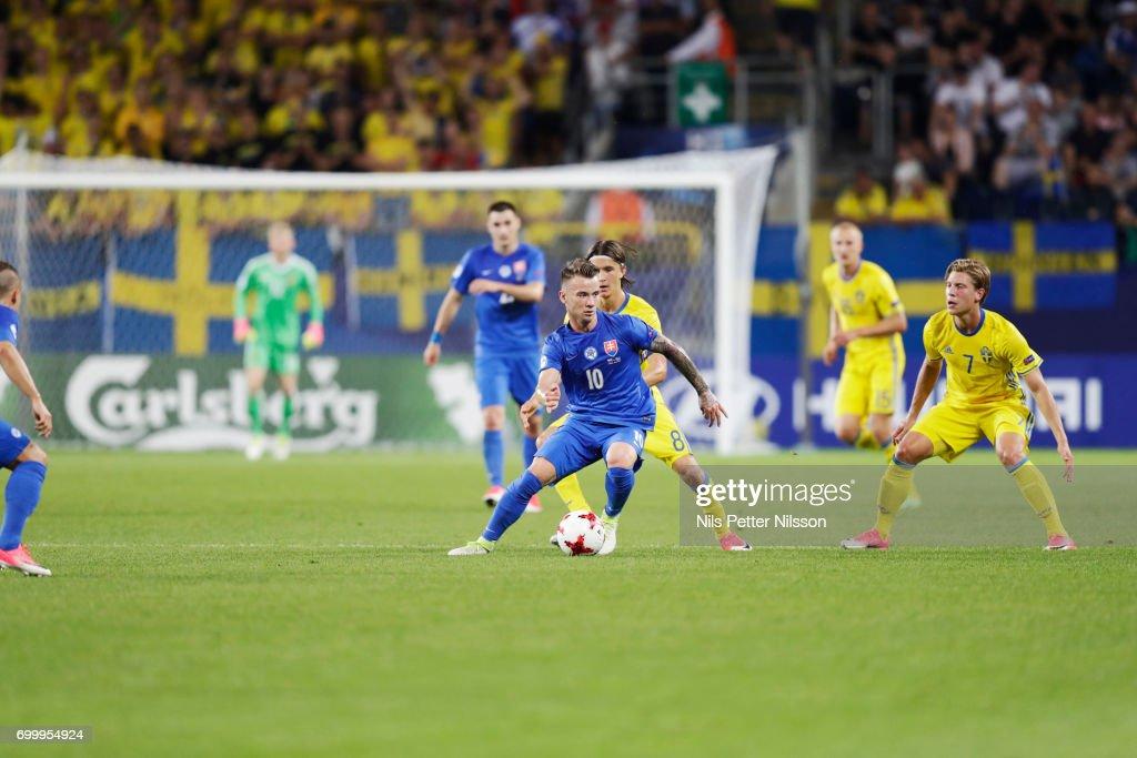 Slovakia v Sweden - 2017 UEFA European Under-21 Championship