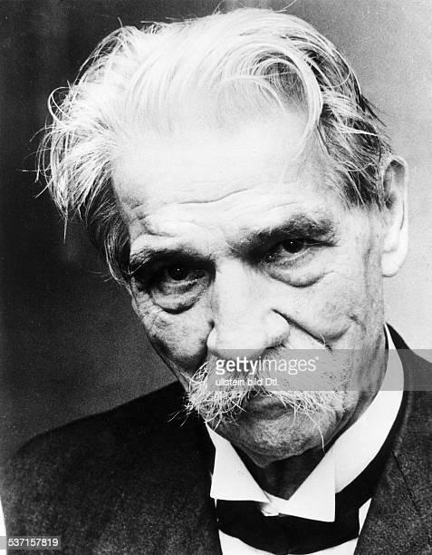 Albert Schweitzer Arzt Theologe F 1959