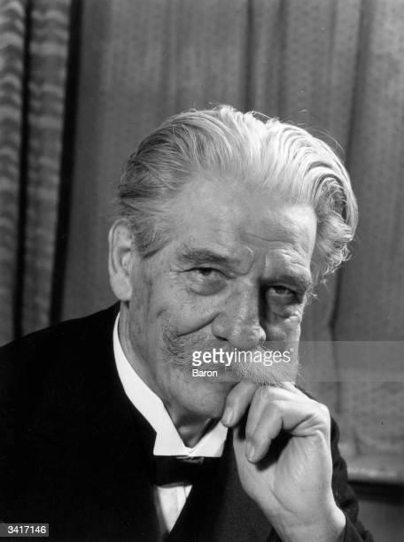 Albert Schweitzer German theologian philosopher musicologist medical missionary and Nobel laureate