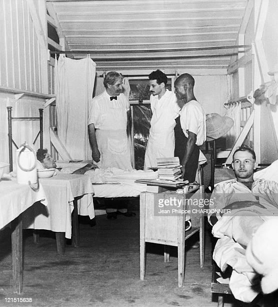 Albert Schweitzer in Lamarene in Gabon