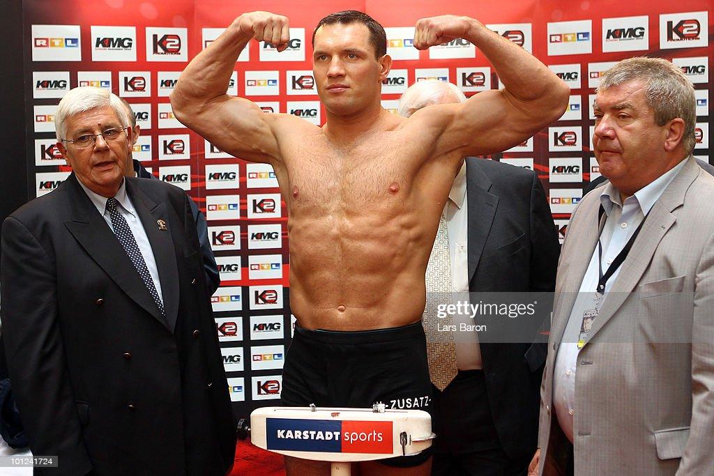 Vitali Klitschko v Albert Sosnowski - Weigh In