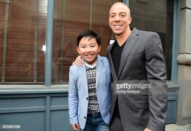 Albert Tsai and Matt Murray attend the 2017 Summer TCA Tour CBS Television Studios' Summer Soiree at CBS Studios Radford on August 1 2017 in Studio...